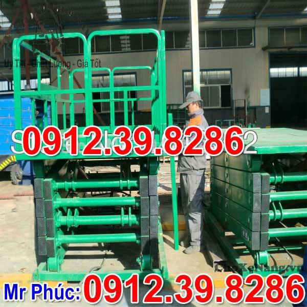 chế tạo sản xuất bàn nâng điện