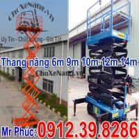 Thang Nâng điện Kéo Tay Dòng Thang Bán Tự Hành 6m 9m 11m 12m 14m