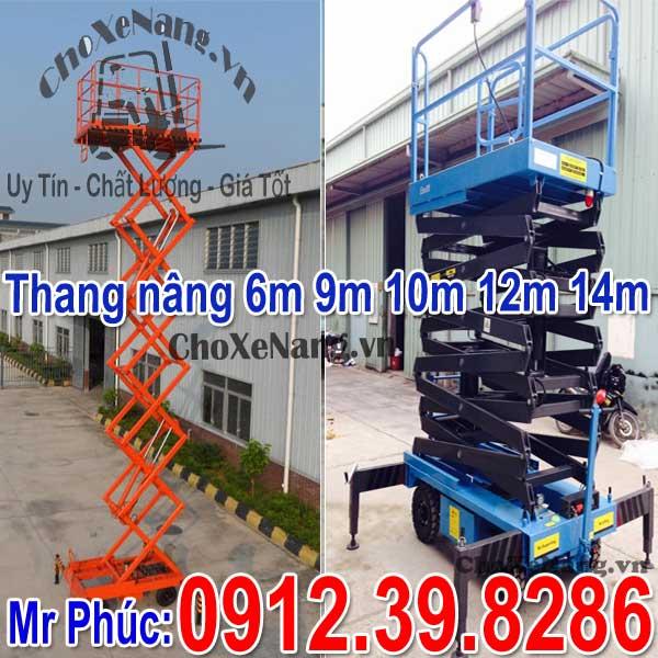 Thang Nâng điện Kéo Tay