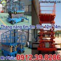 Thang Nâng điện 6m 9m 10m 12m 14m Nhập Khẩu Chất Lượng đảm Bảo