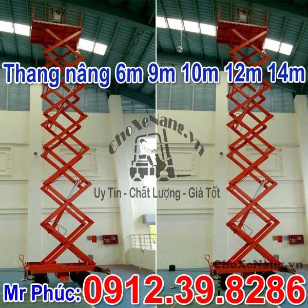 Thang nâng ziczac 6m 9m 10m 12m 14m