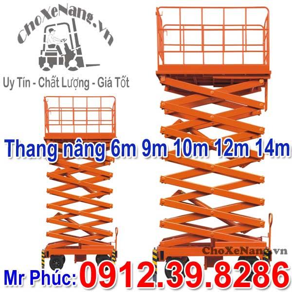 Thang Nâng Ziczac 6m 9m 12m 14m