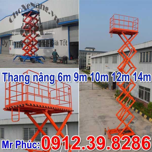 Thang Nâng Ziczac 6m 8m 10m 12m 14m