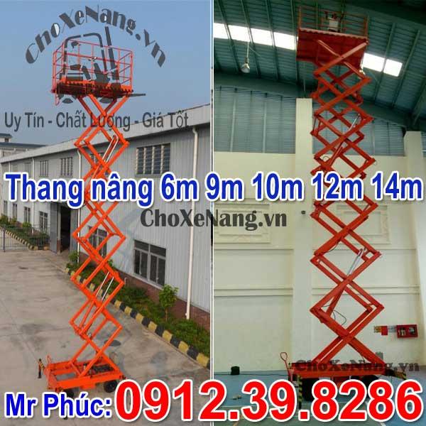 Thang Nâng Ziczac 6m 8m 9m 12m 14m