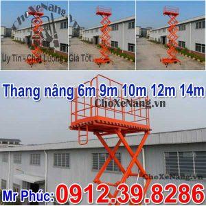 Thang Nâng Người Tại Hà Nam Xe Thang Nâng 6m 9m 10m 12m 14m