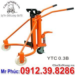 Xe Nâng Phuy 300kg Model YTC 0.3B Tại Chợ Xe Nâng