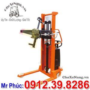 Xe Nâng Thùng Phuy Bằng điện 350kg Chiều Cao Nâng 1.6m 2.5m