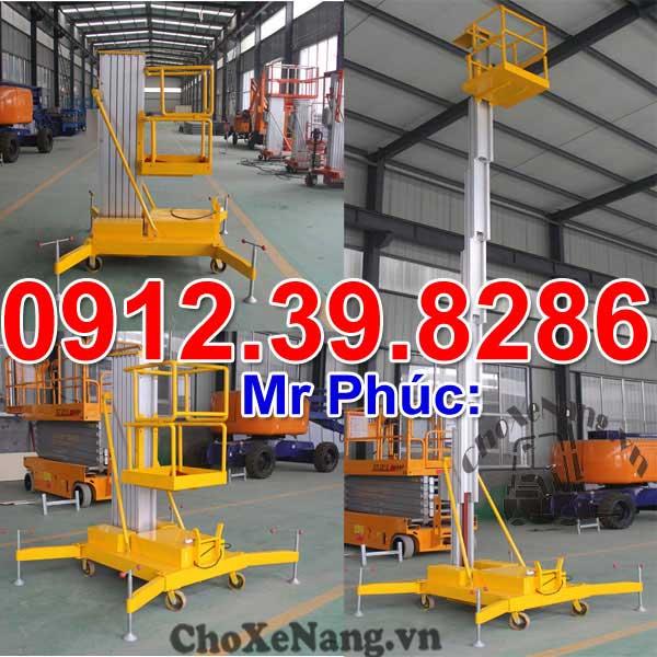 Thang Nâng điện Kéo Tay 10m