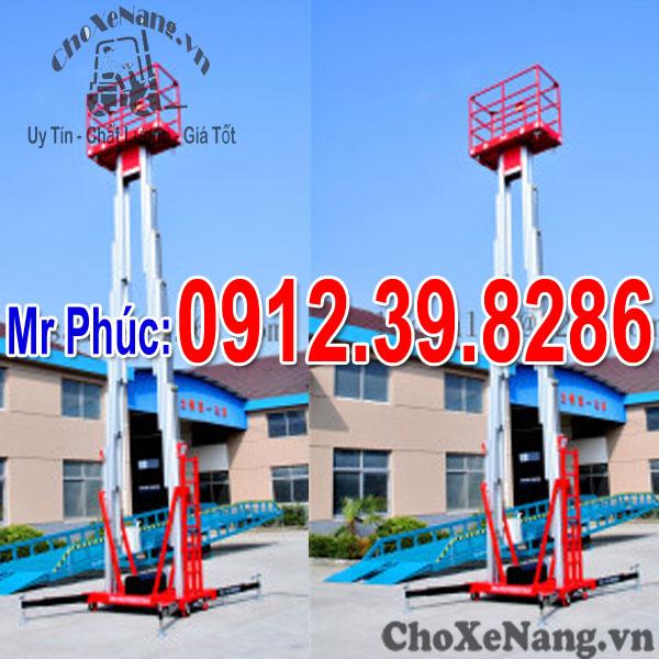 Thang Nâng Người 250kg Nâng Cao 10m 12m