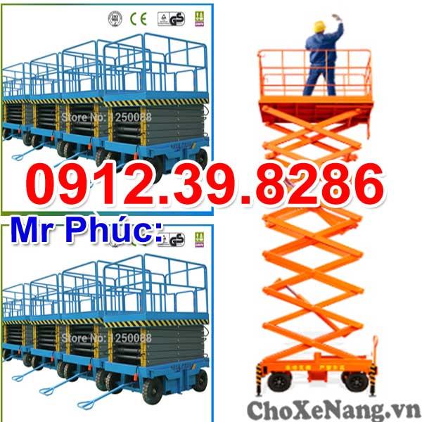 Thang Nâng 300kg Cao 12m