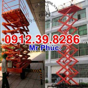 Thang Nâng 9m 300kg Chuyên Gia Công Trình Và Xây Lắp Trên Cao