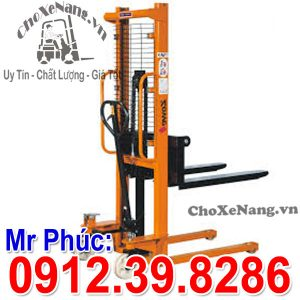 Xe Nâng Hàng Tay Cao 1 Tấn Nâng Cao 1.5m 2m 3m Hà Nội