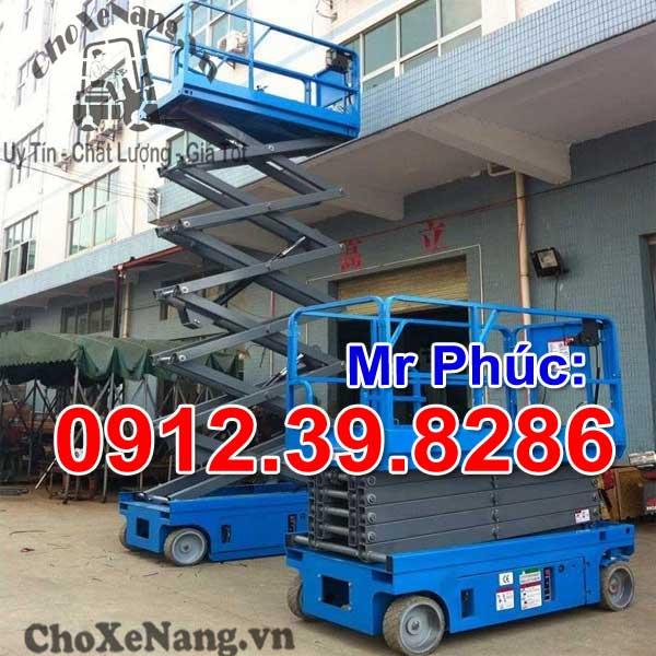 xe thang nâng người tự hành