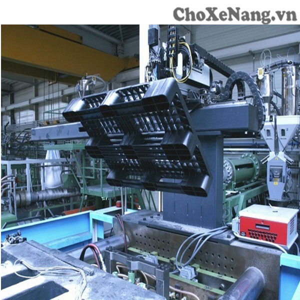 quy trình sản xuất pallet nhựa