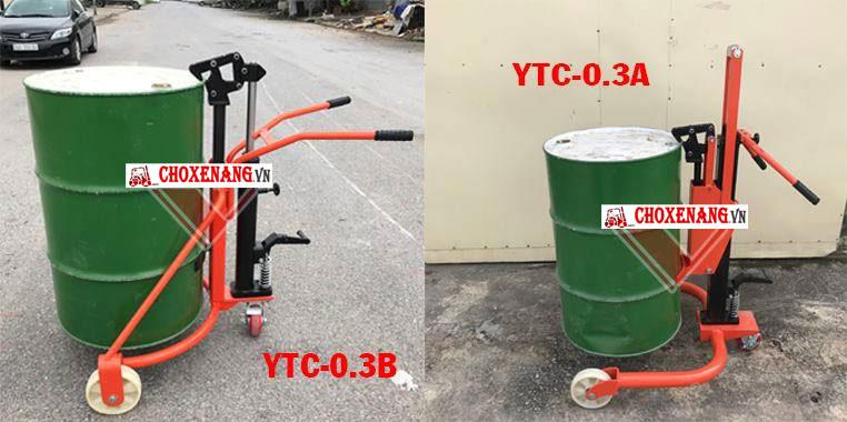 xe nâng thùng phuy model ytc 03a và ytc 03b